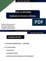 Caso de Consultoría - Rediseño de Servicio al Cliente