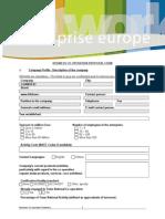 BCD Form 0901