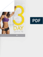 21 day fix - 3 day quick fix