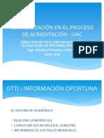Sensibilizacion Proceso Acreditación