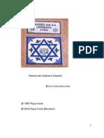 Breve Introduccion Al Judaismo Espanol
