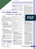La Suspensión de La Relación Laboral - Informe Especial (1)