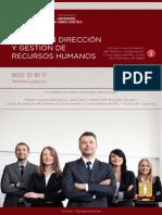 Master en Direccion y Gestion de Recursos Humanos
