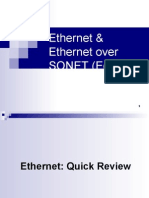 Ethernet & Ethernet Over SONET (EoS)