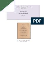 Baron d'Holbalch - Le Traité des Trois Imposteurs (Moïse, Jésus, Mahomet) 1777.pdf