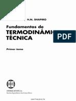 Fundamentos de Termodinámica Técnica Primer Tomo – M. J. Moran & H. N. Shapiro