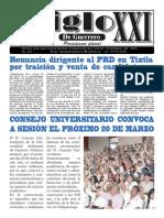 Periodico Siglo XXI de Guerrero