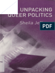 Unpacking Queer Politics - Sheila Jeffreys