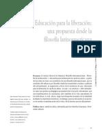 Educacion Para La Liberacion