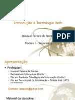 Introdução à Tecnologia Web - módulo 7