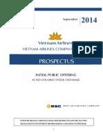 VNA IPO-Prospectus ENG 26Sept14-Final
