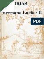 Memorias de La Hermana Lucia 2. Ed 1999