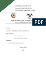 AUDI 17799 - Seguridad Informatica