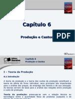 Cap 6 Produção e Custo