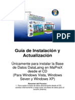 Guia de Instalación de Base de Datos DataLain MaPreX en Windows Vista
