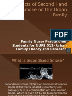 csu 512 effects of second hand smoke on the urban