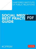 CIPR Social Media Guidelines Final - 2013