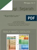 Geo Sejarah (Kambrium)