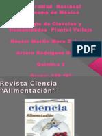 Revista Ciencia y Alimentacion