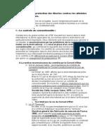 Question droit international