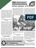 Boletín de apoyo a la negociación de la UTIER