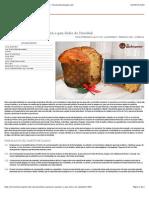 Panettone, Panetone, Panetón o Pan Dulce de Navidad - Recetasderechupete.com