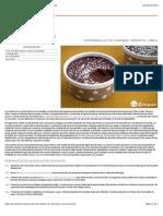 Natillas de Chocolate Caseras - Recetasderechupete.com