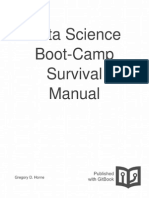 Data Science Boot Camp Survival Manual