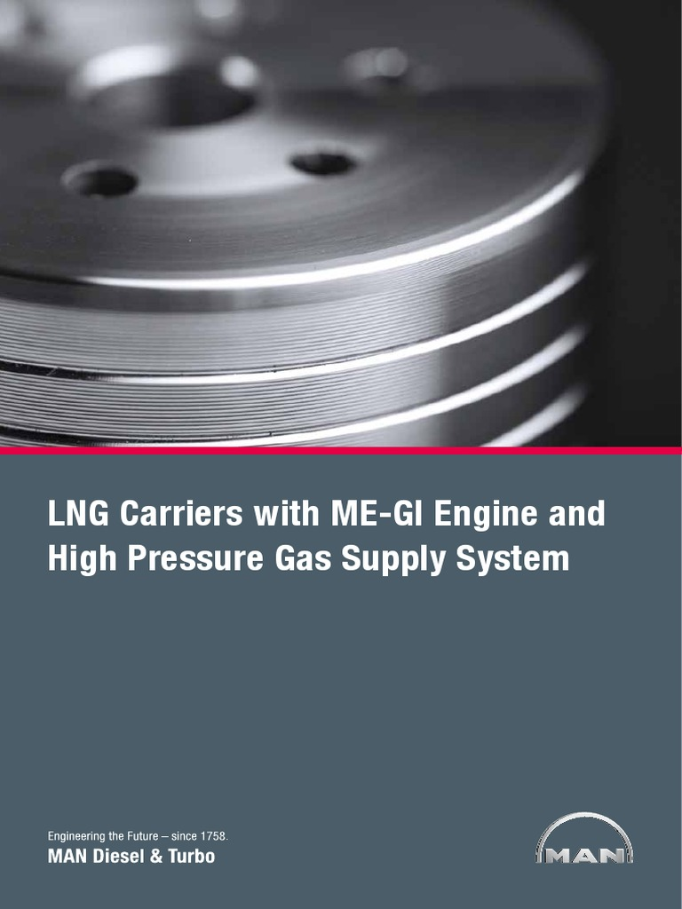Lng Carriers With High Pressure Gas Supply System Compressor Engine Fuel Diagram Marine Propulsion