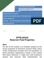 FP-Lect1-Introduction to Petroleum Reservoir Fluids