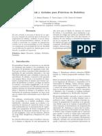 Uso de Simulink y Arduino Para Prácticas de Robótica