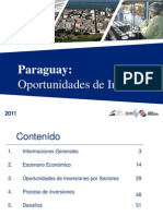 Paraguay Oportunidades de Inversion 2011[ESP] Copia