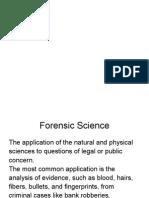 ciencias forenses presentacion