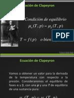 ecuación deCalpeyron