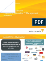 Solarwinds Sales Deck