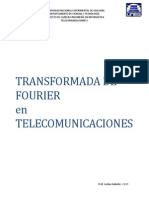Guía Transformada de Fourier en Telecomunicaciones