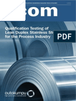 Outokumpu Corrosion Management News Acom 3 2014
