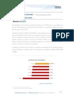 Reporte Quincenal - 17 de Noviembre de 2014
