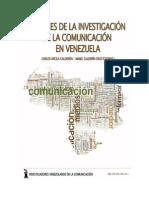 Avances de la investigación de la Comunicación en Venezuela (2011)