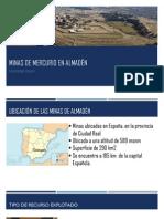Minas de Mercurio en Almadén