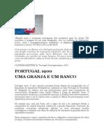 Portugal 1900 Uma Granja e Um Banco