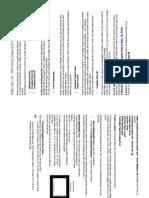 1A Materials List