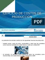 Ejercicio de Costos de Producción