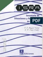 Inventario de Situaciones y Respuestas de Ansiedad - IsRA (Manual y Protocolo)