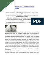 Contoh Analisis Jurnal Internsional Pendidikan Fisika