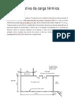 Cálculo Carga Térmica - STR