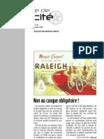 la lettre de vélocité janvier 2010 n°14