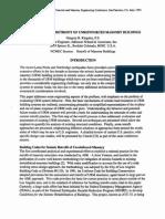 Masonry Evaluation and Retrofit