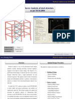 Steel Pushover Analysis