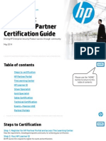 FY14 H2 HP ArcSight EMEA Partner Certification Guide